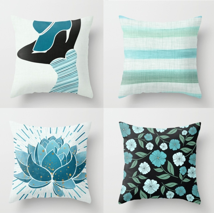pillow-party-aqua