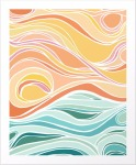 abstract-tropical-pastel-sunset-art-for-sale