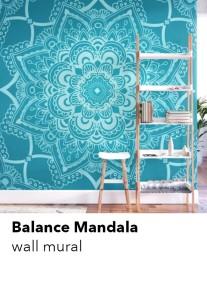 mandala-mural