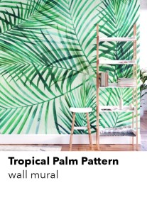 tropical-palm-mural