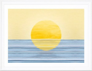 Minimal-Sunset-Blue-Gold