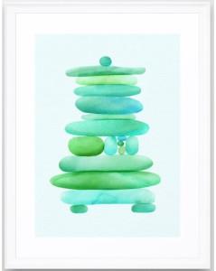 Sea-Glass-Cairn