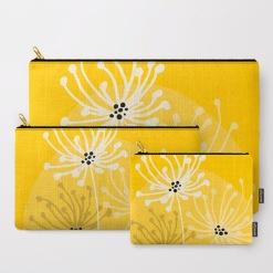 Yellow Summer Floral Design