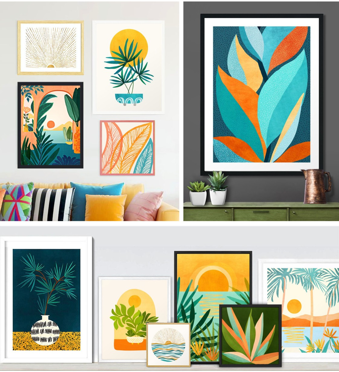 Official site of Modern Tropical art and decor by Kristian Gallagher